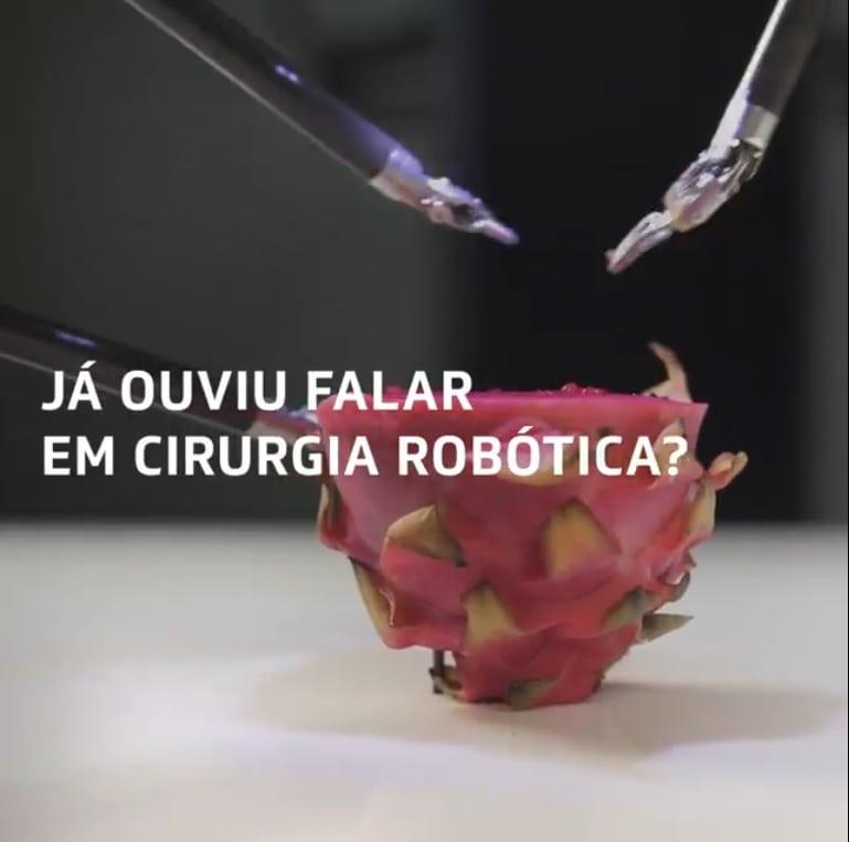 Já ouvi falar em cirurgia robótica em urologia?